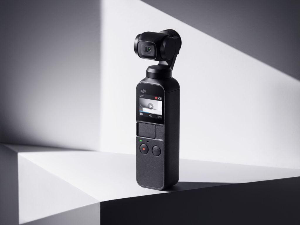 DJI Osmo Pocket camera foto pentru vloging