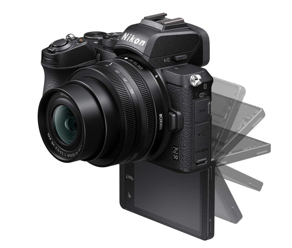 Nikon Z50 Z 50 aparat video pentru vlogging