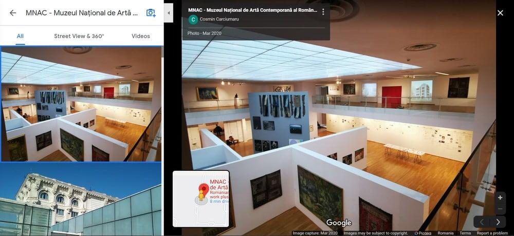 Muzeul National de Arta Contemporana MNAC Bucuresti sedinte foto