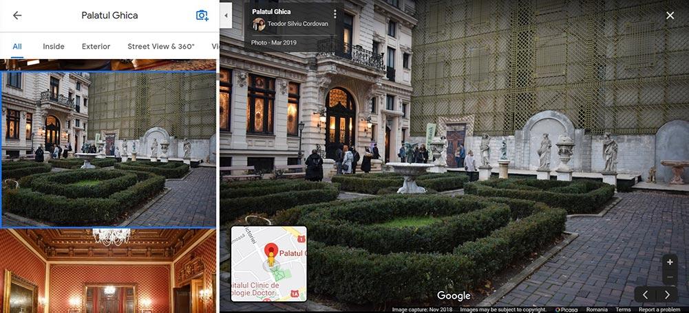 Palatul Ghica Victoriei sedinta foto de nunta in Bucuresti