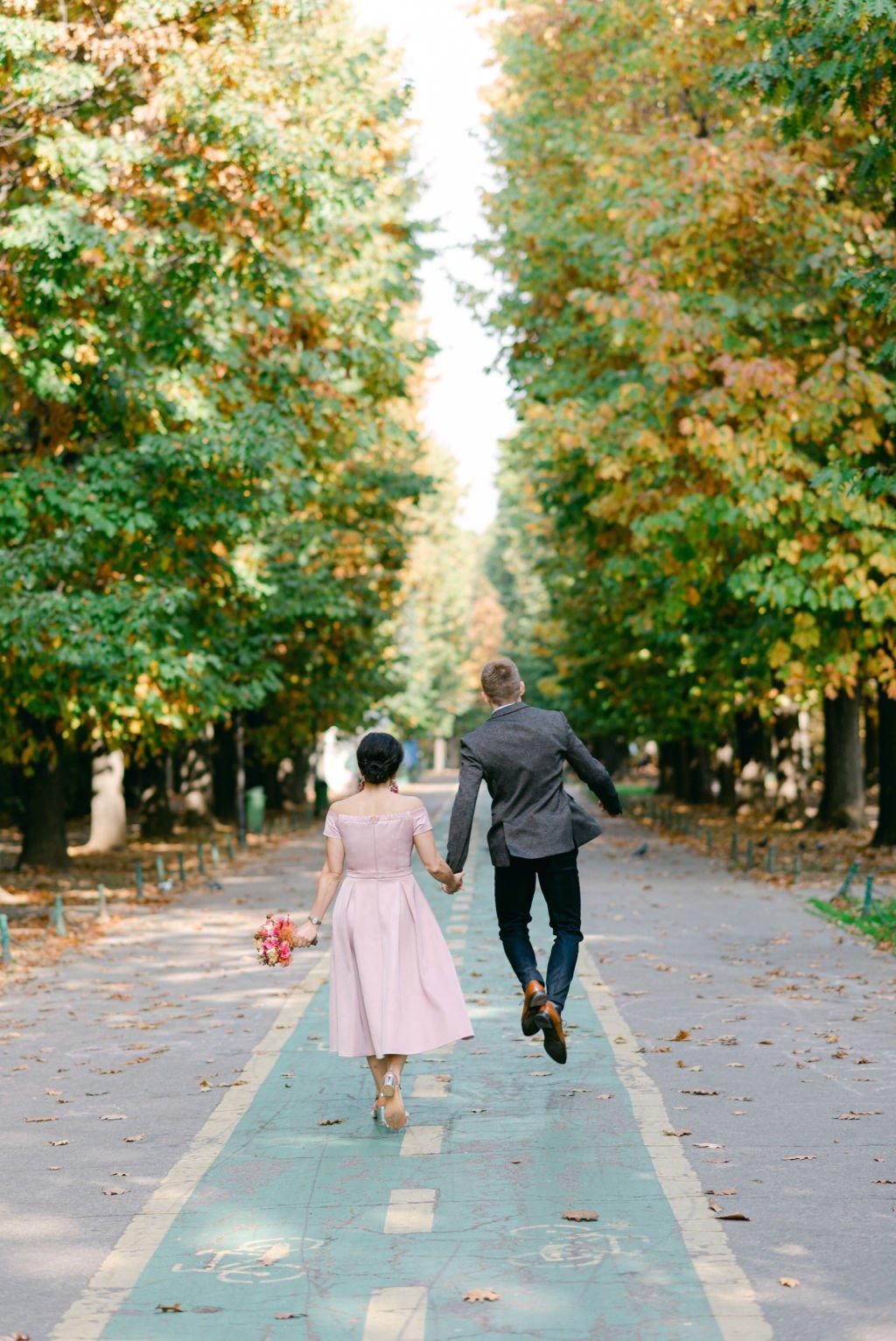 cuplu parcul Herastrau Bucuresti