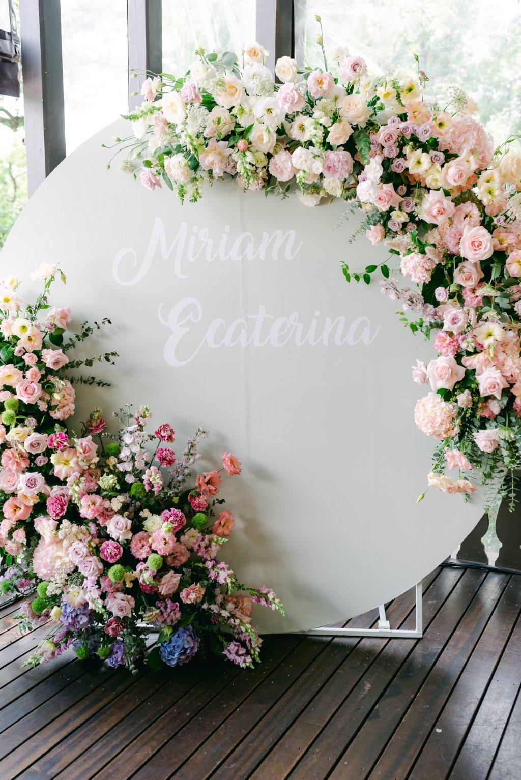 aranjament floral restaurant botez Bucuresti Idillyc